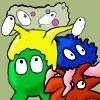 لعبة الحشرات الملونة