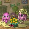 لعبة ديكور سلة الزهور