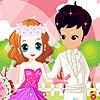لعبة فستان الزفاف السعيد