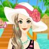 لعبة تلبيس ملابس الصيف علي البحر