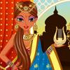 لعبة تلبيس الاميرة الهندية