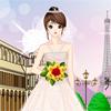 تلبيس فستان زفاف باريس