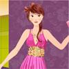 لعبة تلبيس فستان الحفلة
