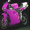 لعبة بازل  الدراجة النارية البناتي