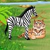 لعبة البحث عن الحيونات في الغابة