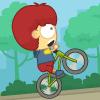 لعبة الولد و الدراجة