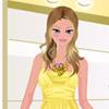 لعبة تلبيس الفستان الاصفر